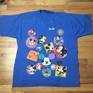 Vintage Disney Mickey Florida Graphic Tee